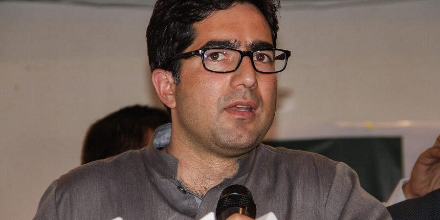 Bureaucrat-turned-politician Shah Faesal