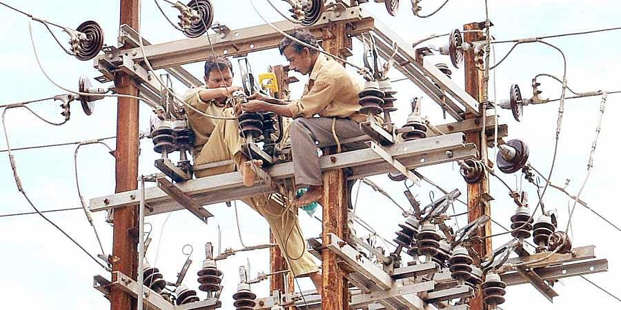 power cut, power lines, maintenance work