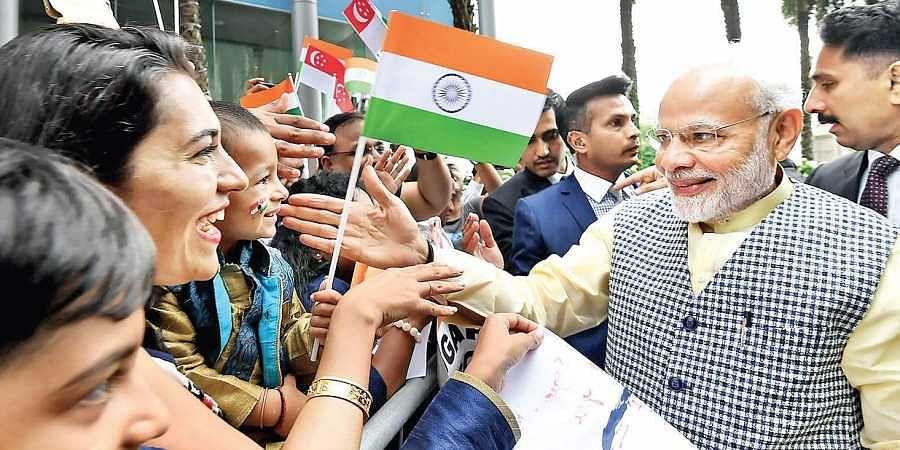 Modi, Diaspora