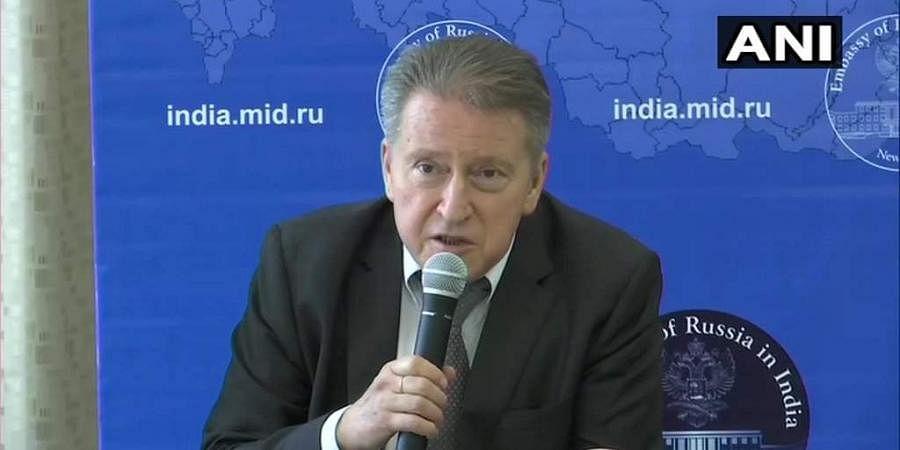 Russian envoy Nikolay Kudashev