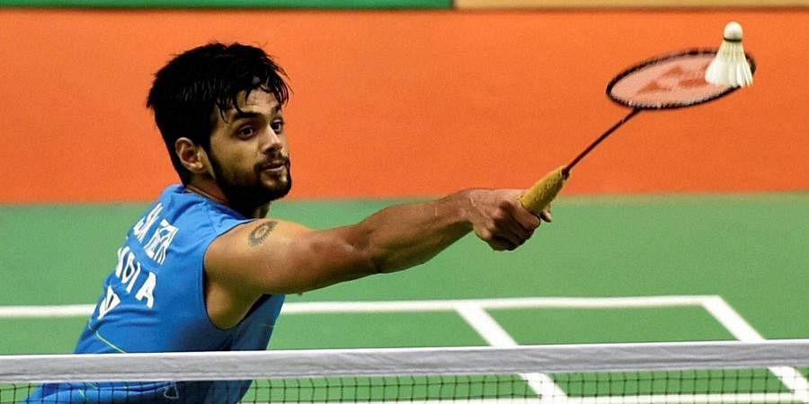 Indian badminton star B Sai Praneeth