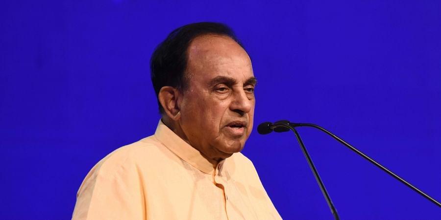 Rajya Sabha member Subramanian Swamy