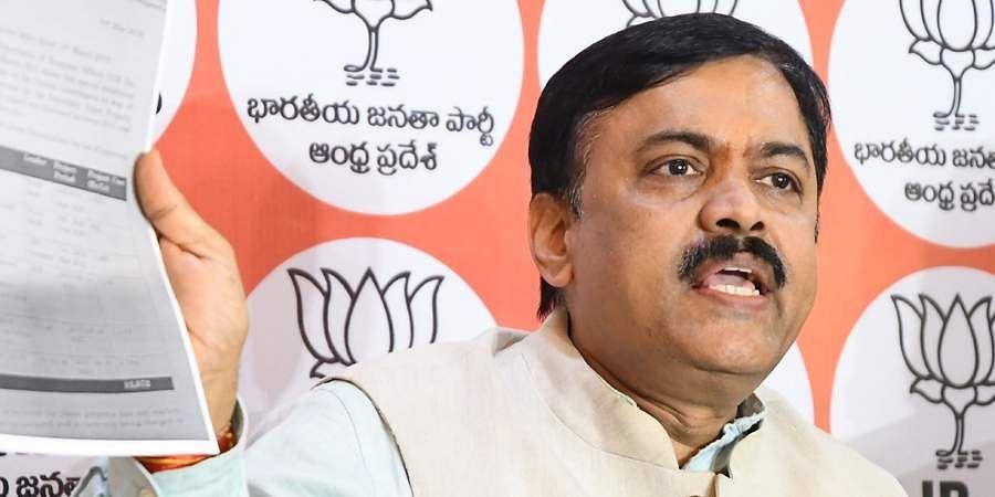 BJP MP GVL Comments On Nimmagadda-Jagan Issue