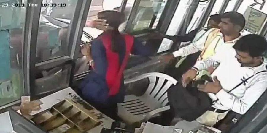 The incident took place at the Kherki Dhaula toll plaza and the man was arrested.