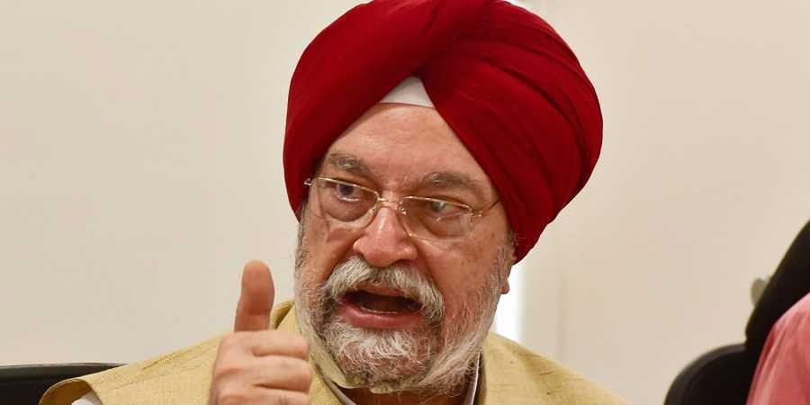 Aviation Minister Hardeep Singh Puri