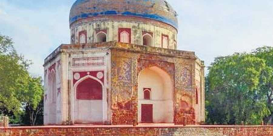 Conservation of Neela Gumbad was completed in 2014