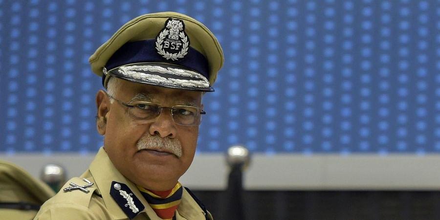 Outgoing BSF chief Rajni Kant Mishra