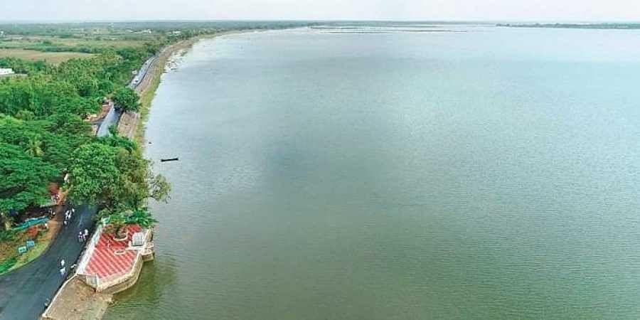 Image result for veeranam lake
