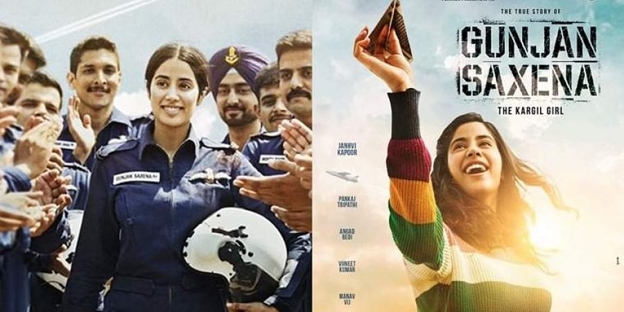 Check Out Janhvi Kapoor S First Look As Combat Pilot Gunjan Saxena From The Kargil Girl The New Indian Express