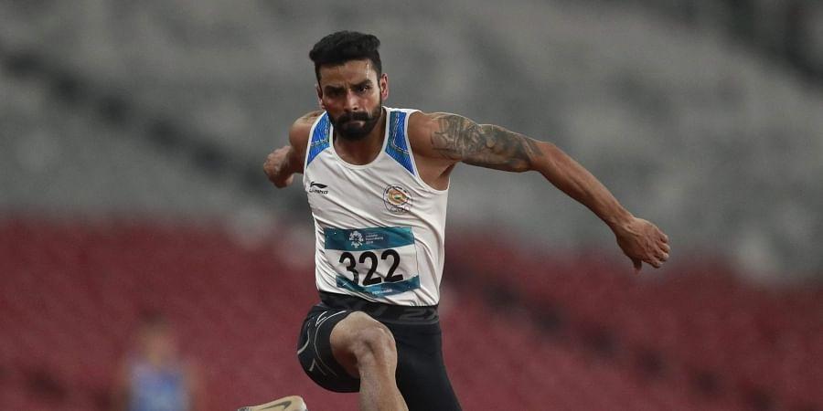 Arpinder Singh, Triple Jump