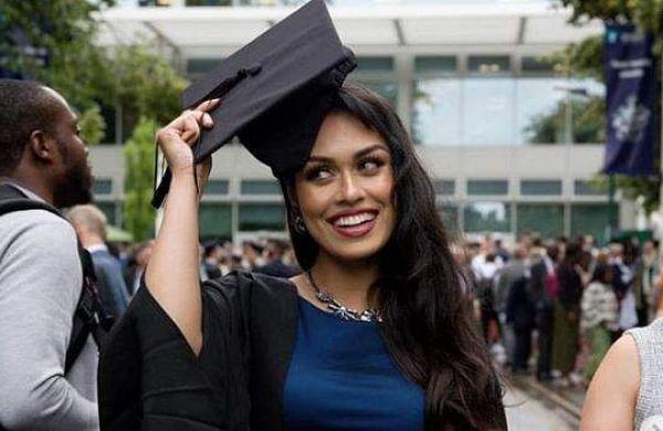 Miss England Bhasha Mukherjee returns to UK to resume her duties as doctor amid coronavirus pandemic