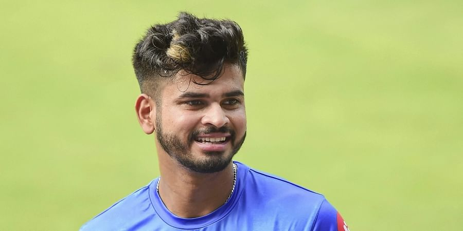 DC skipper Shreyas Iyer during a training session. (Photo | PTI)