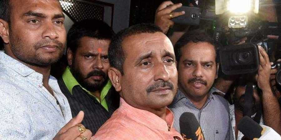 Rape-accused BJP MLA Kuldeep Singh Sengar