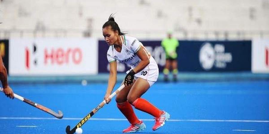 India women's hockey team forward Lalremsiami
