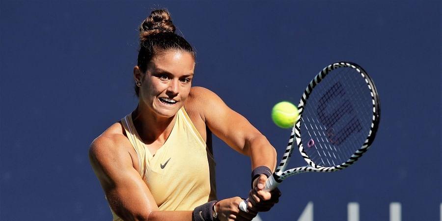 Maria Sakkari saves four match points to topple top seed Elina Svitolina at Silicon Valley ...