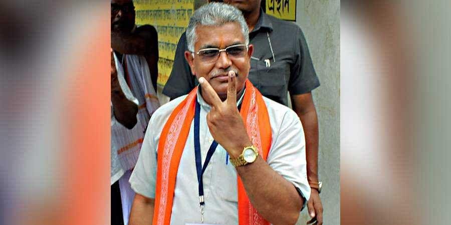 Bengal BJP chief Dilip Ghosh