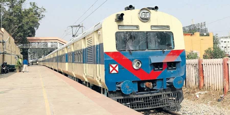 Baiyappanahalli-Whitefield suburban train