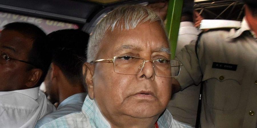 Former Bihar CM Lalu Prasad