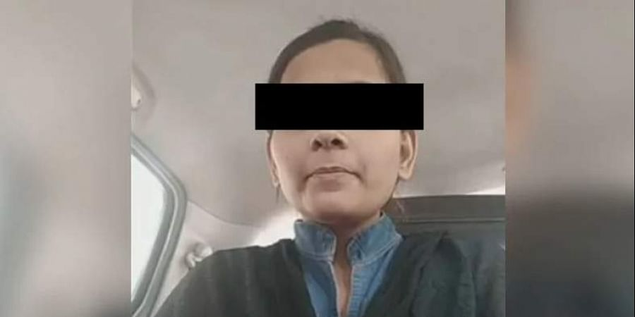 The judges had an in-camera interaction with the woman who was brought to the apex court by the UP police on its direction.