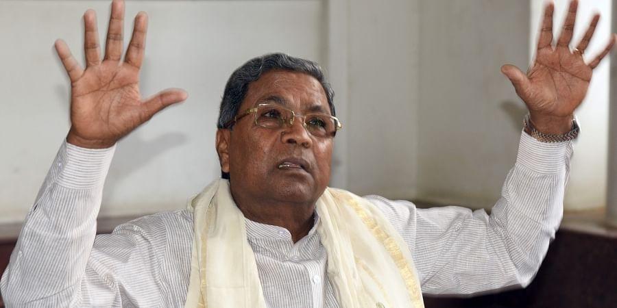 Former KarnatakaCMSiddaramaiah