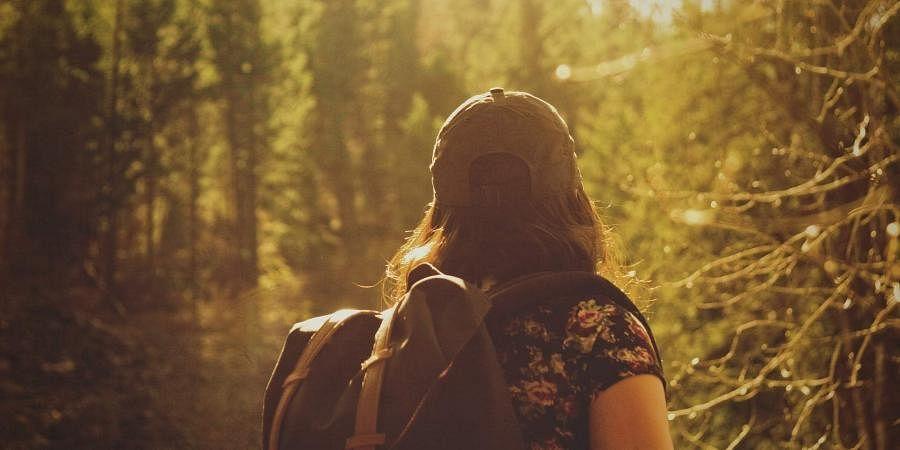 solo traveller, hiker