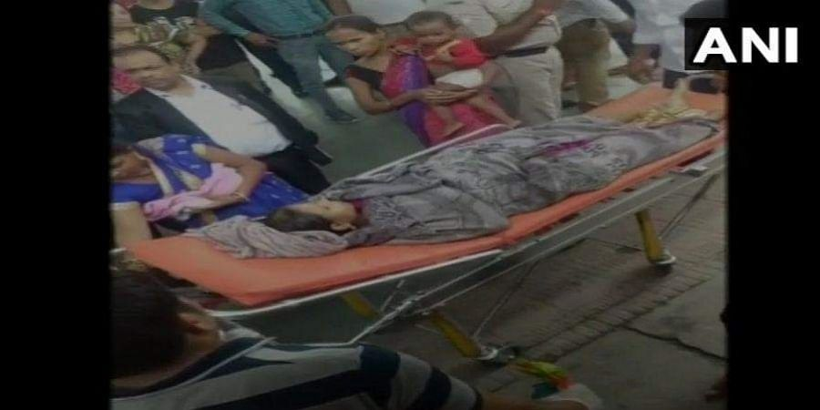 After the woman complaint of labour pain, the train was stopped at Roorkee which wasn't a designated stop. She & the baby were later admitted to hospital for treatment.