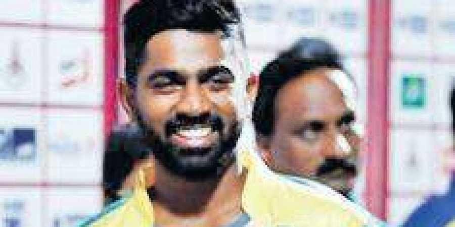 Kovai Kings skipper Abhinav Mukund