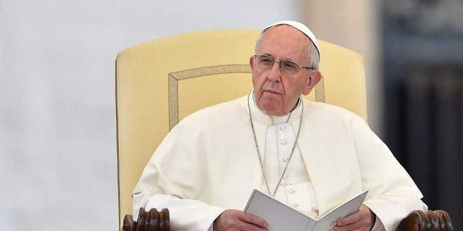 Pope Francis  (File   AFP)
