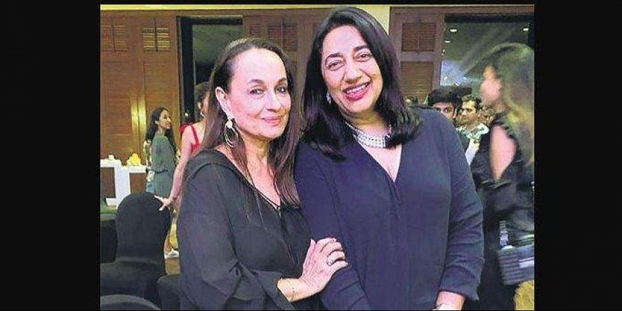 Anu Ranjan, president, The Indian Television Academy and actor Soni Razdan have known each other for decades.