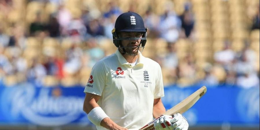 England's Rory Burns returns to the pavilion after getting out for 11 runs during play on the fifth day of the first Ashes cricket Test match. (Photo   AFP)