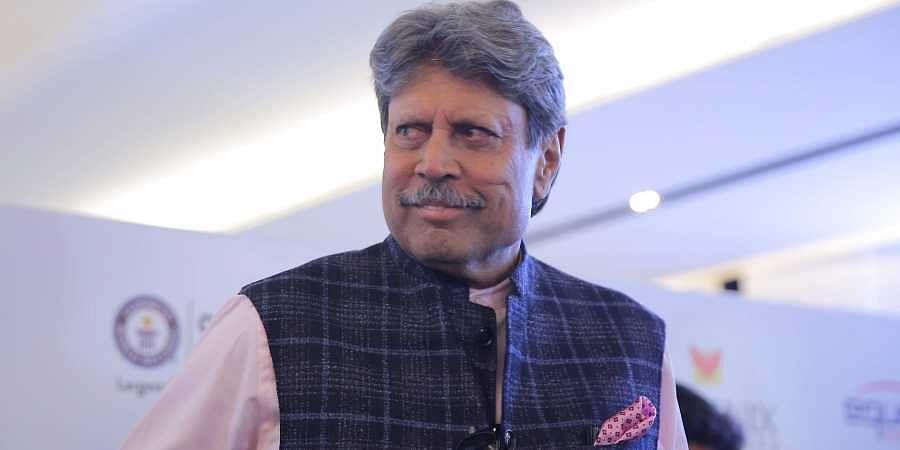 Former India captain Kapil Dev