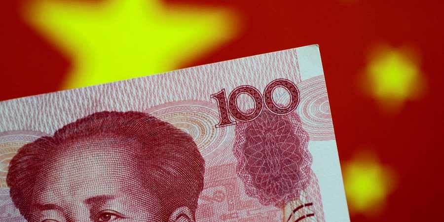 Representational image of a Yuan note.