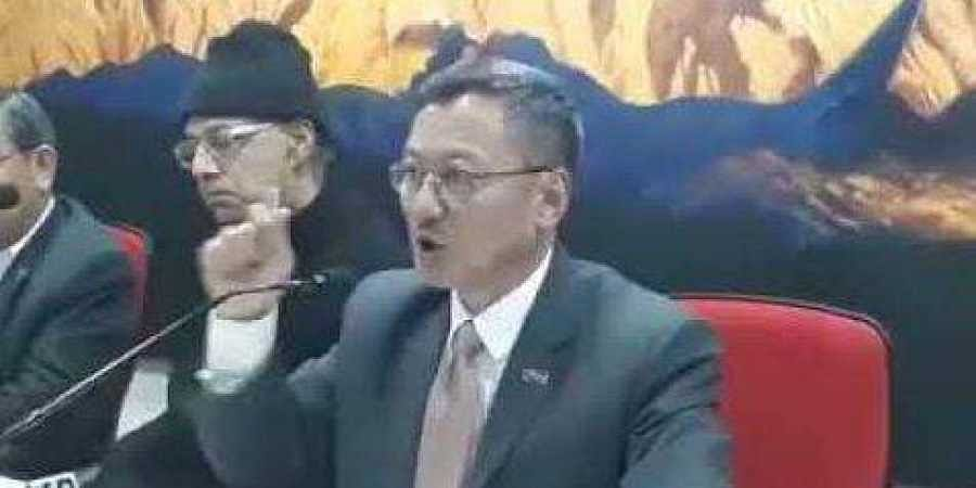 SDF leader K T Gyaltsen