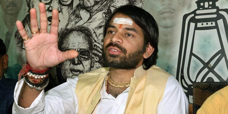 Rashtriya Janata Dal MLA Tej Pratap Yadav. (Photo | PTI)