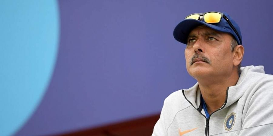 India's head coach Ravi Shastri. (Photo | AFP)
