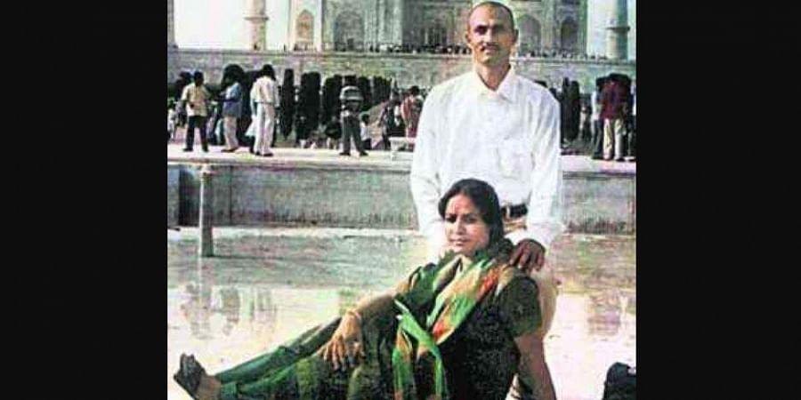 Sohrabuddin_Sheikh_and_his_wife_Kausar_Bi