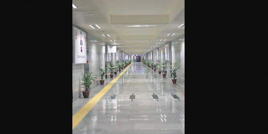 The 185-metre-long subway will facilitate pedestrian movement between the Sitapuri, Dabri Mor and Janakpuri C2 block areas.