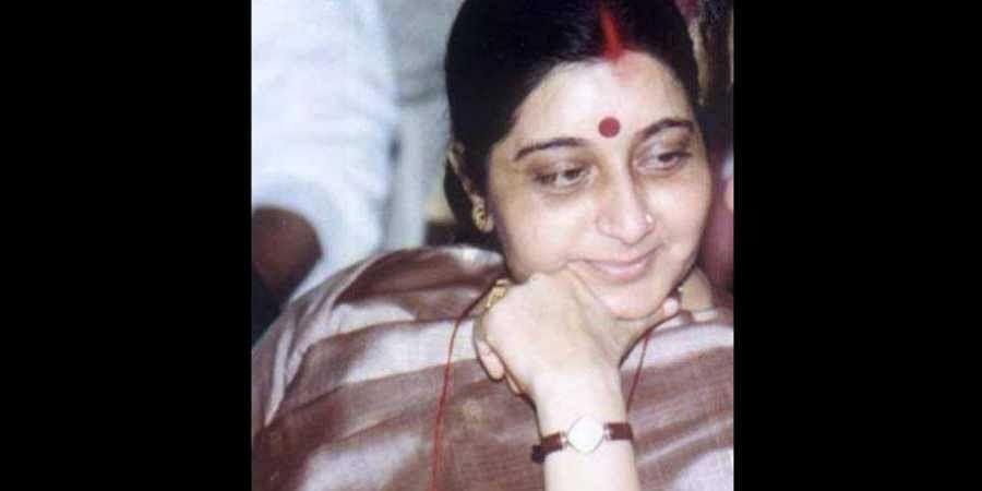 Late BJP leader Sushma Swaraj
