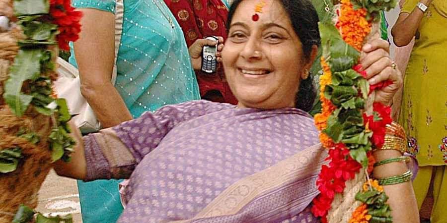 Rescued from abroad, Uttar Pradesh men remember Sushma
