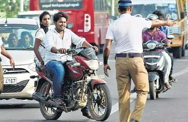 Chennai, not wearinghelmet can cost your life, or Rs 1,000 fine