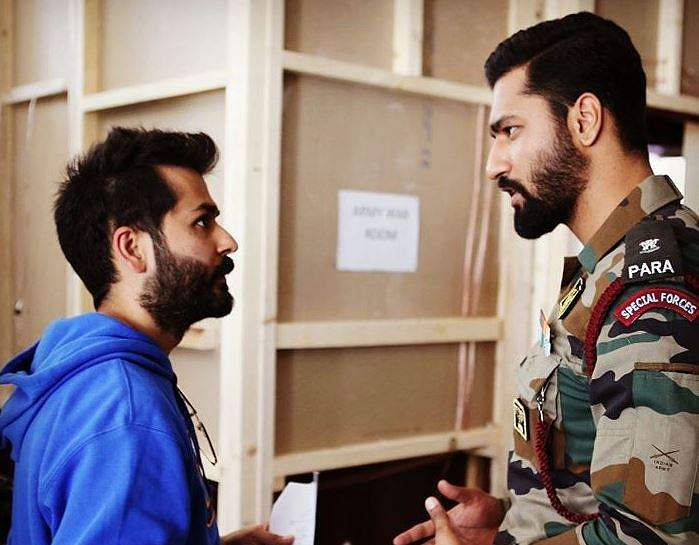 ADITYA DHAR (BEST DIRECTION FOR 'URI: THE SURGICAL STRIKE') Uri was  was based on the 2016 Uri attack, which was a smashing success making over Rs. 200 Cr in box office collections, resounding success as his directorial debut.