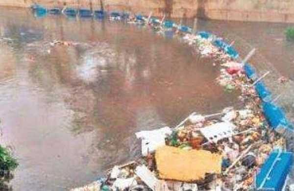 Trash barriers help unblock Bengaluru's drains