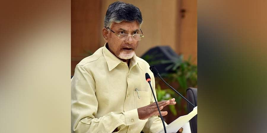 TDP supremo and Leader of the Opposition N Chandrababu Naidu