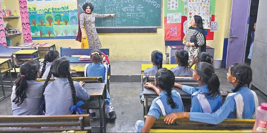 In CBSE 10 results, the pass percentage of Delhi govt schools was 71.6%, up by about 2.7% over last year.
