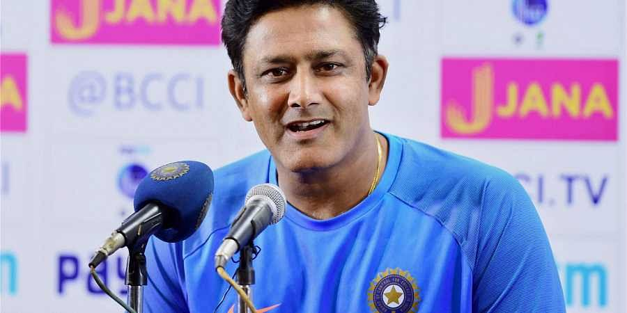 Former Indian Cricket team Coach Anil Kumble.  File  PTI