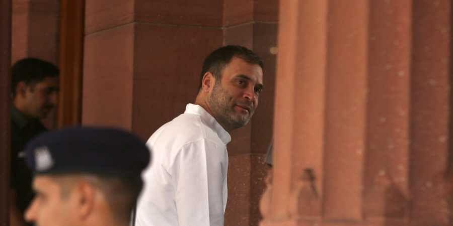 Congress leader Rahul Gandh