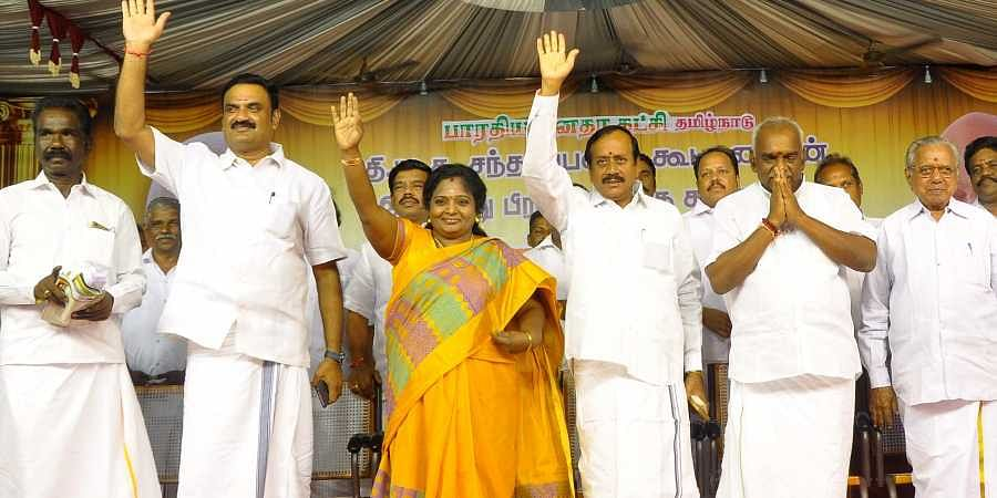 Who will take the reins of Tamil Nadu BJP from Tamilisai