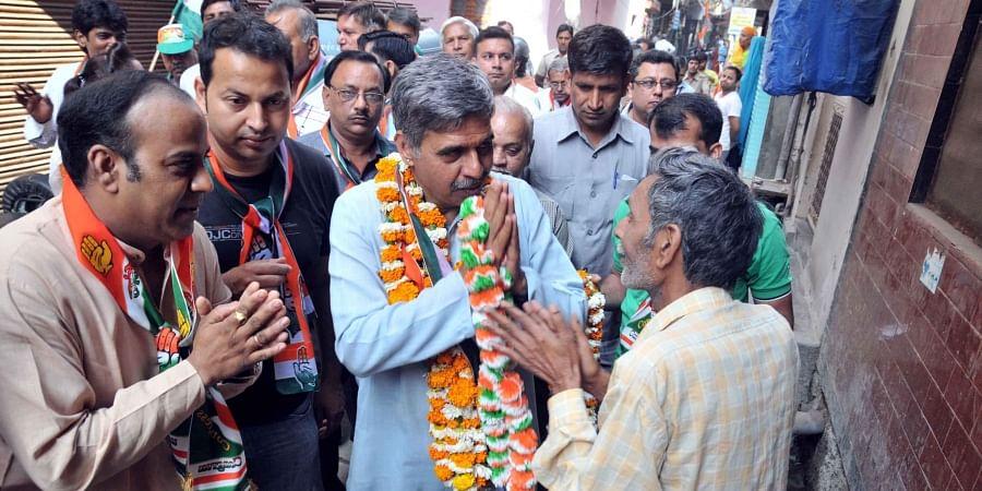 Congress leader Sandeep Dixit