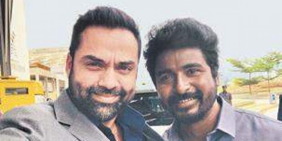 Abhay Deol with Sivakarthikeyan Doss