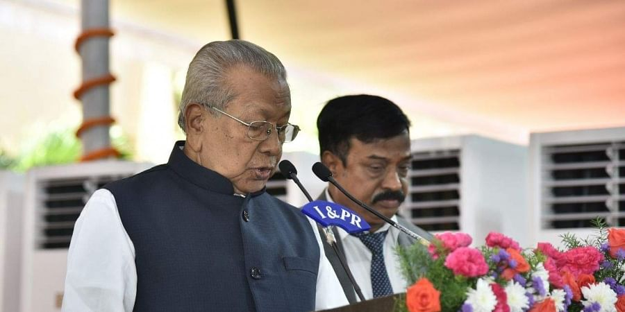 Biswa Bhusan Harichandan,  Governor of Andhra Pradesh